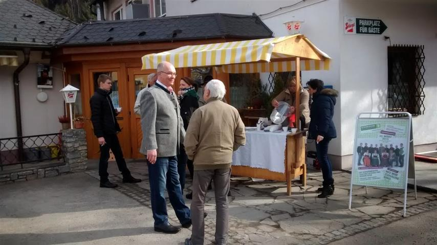 Bürgermeister Treff in Traboch