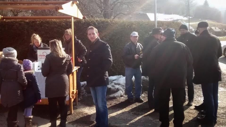 Bürgermeister Treff in Stadlhof und Madstein